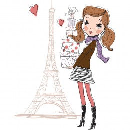 Fashion Girl Art Print 4