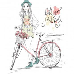 Fashion Girl Art Print 10