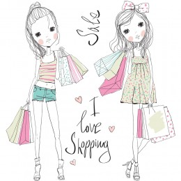 Fashion Girl Art Print 12