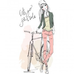 Fashion Girl Art Print 15