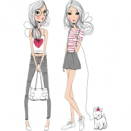 Fashion Girl Art Print 16