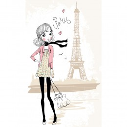 Fashion Girl Art Print 17