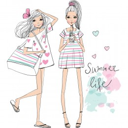 Fashion Girl Art Print 20