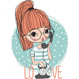 Fashion Girl Art Print 54